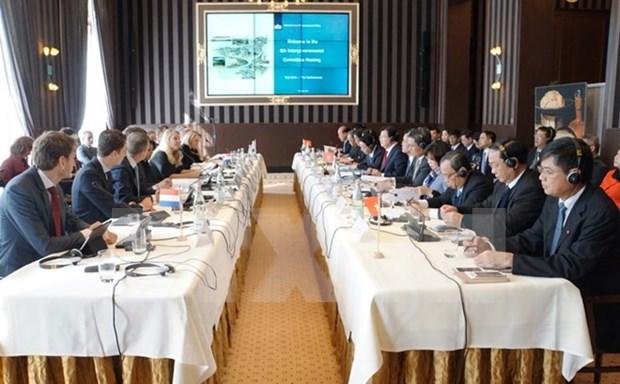 Vietnam y Paises Bajos celebran sexta reunion intergubernamental sobre cambio climatico hinh anh 1