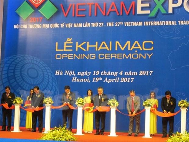 Vietnam Expo 2017 abre sus puertas en Hanoi hinh anh 1