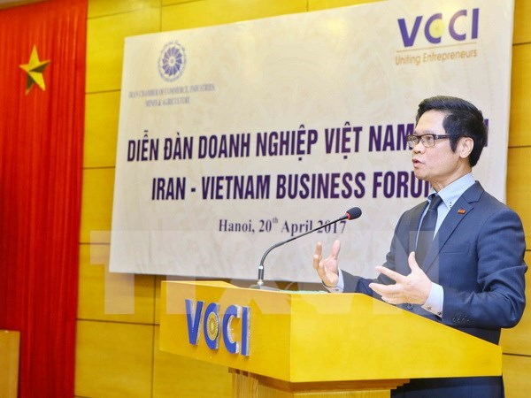 Promueven oportunidades de cooperacion comercial Vietnam – Iran hinh anh 1