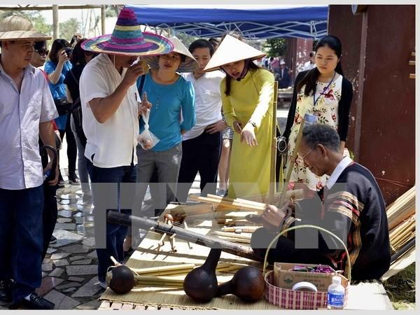 Nutridas actividades en saludo a Dia cultural de etnias vietnamitas hinh anh 1