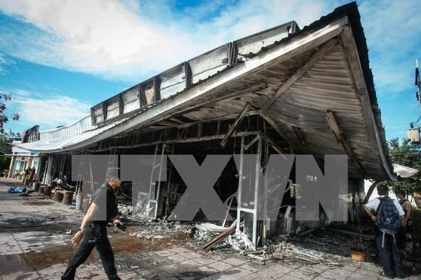 Region surena de Tailandia sufre serie de atentados hinh anh 1