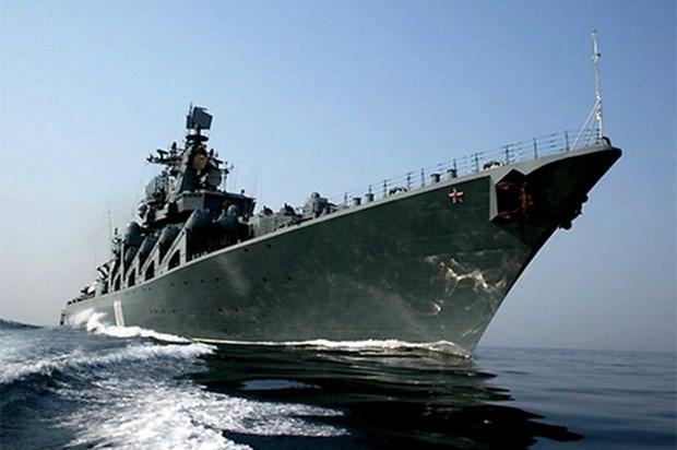 Dos buques de Armada rusa visitan Filipinas hinh anh 1