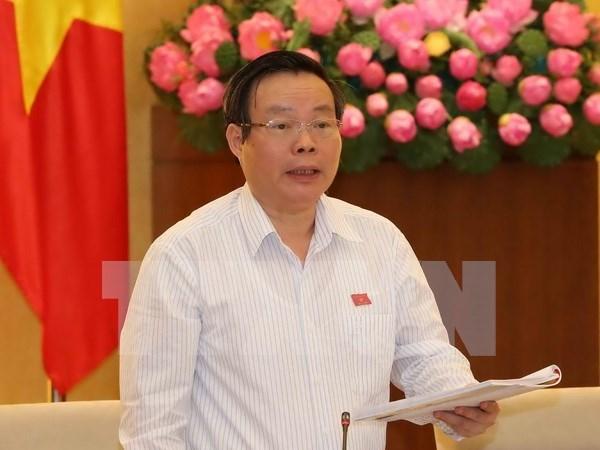 Diputados vietnamitas revisan ley de gestion de bienes estatales y plan de inversion publica hinh anh 1