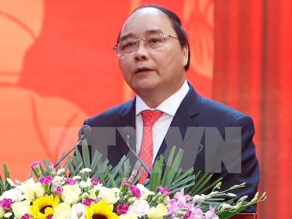 Premier vietnamita recibe a delegacion empresarial japonesa hinh anh 1