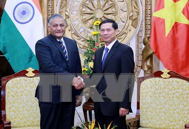 Vietnam e India por elevar comercio bilateral a 15 mil millones de dolares en 2020 hinh anh 1