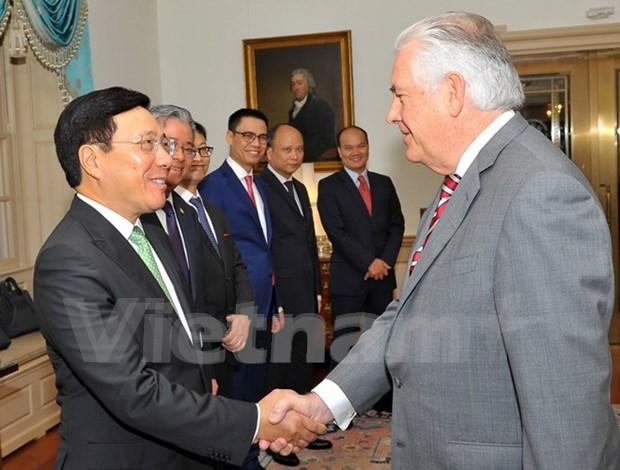 Vietnam patentizo esfuerzos para intensificar asociacion integral con EE.UU. hinh anh 1