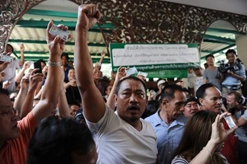 Tailandia aprueba dos leyes para favorecer elecciones generales hinh anh 1
