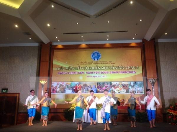 Festivales tradicionales de paises asiaticos celebrados en Hanoi hinh anh 1
