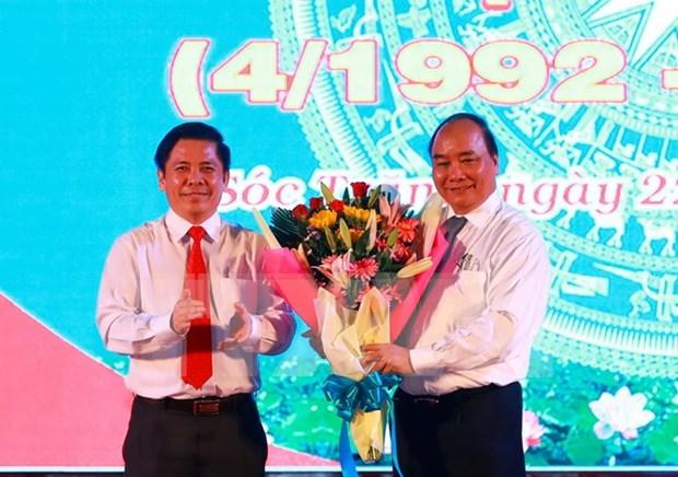 Premier exige prestar mayor atencion a grupos emprendedores en Soc Trang hinh anh 1