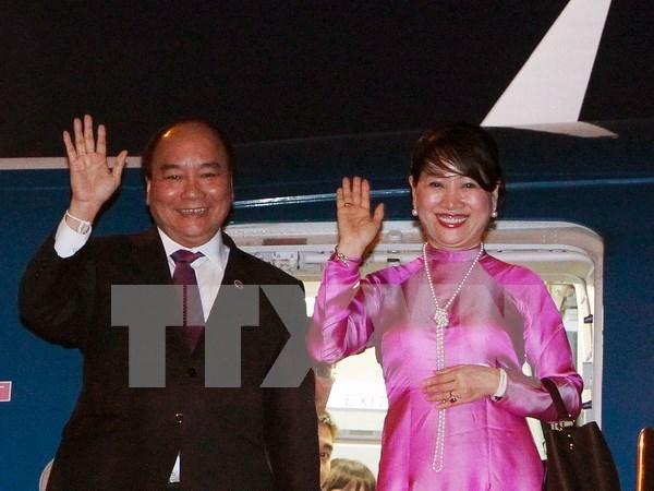 Premier vietnamita asistira a Cumbre de ASEAN en Filipinas hinh anh 1