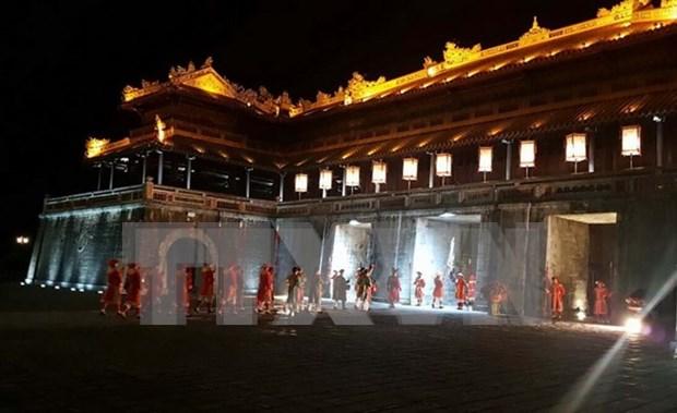 Atractivas ofertas para turistas en palacio imperial de Hue hinh anh 1