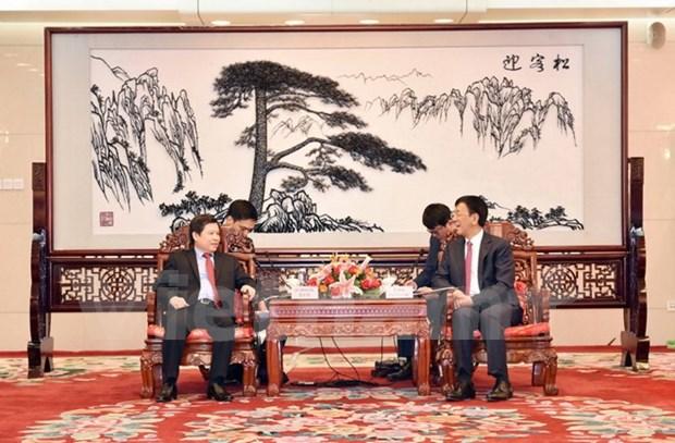 Fiscalias de Vietnam y China robustecen nexos de cooperacion hinh anh 1