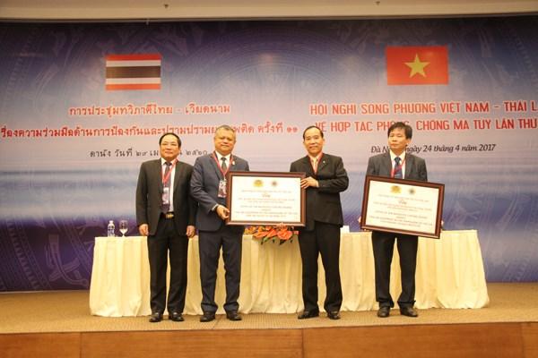 Vietnam y Tailandia promueven cooperacion en lucha antidroga hinh anh 1