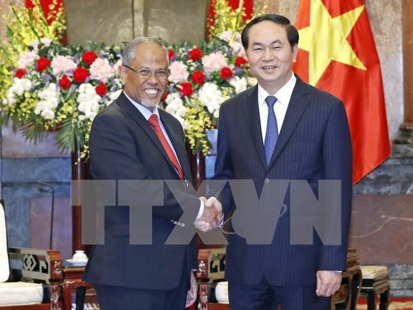Vietnam con alto interes en cooperar con Singapur en proteccion del entorno hinh anh 1