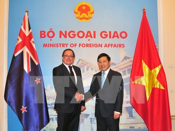 Vietnam y Nueva Zelanda acuerdan medidas para impulsar cooperacion hinh anh 1