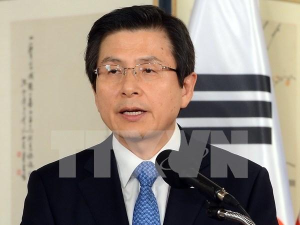 Presidente interino de Sudcorea valora los lazos con Vietnam hinh anh 1