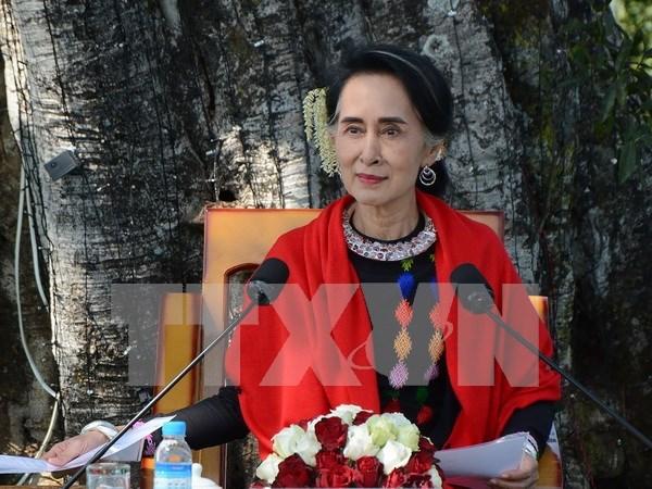 Myanmar celebrara segunda conferencia de paz en mayo hinh anh 1