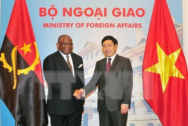 Vietnam reitera importancia de los nexos con Angola hinh anh 1