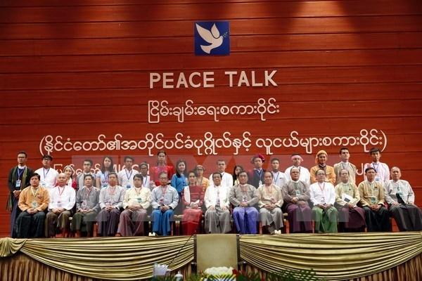 Myanmar: Resultados del dialogo politico seran presentados en Conferencia de paz hinh anh 1