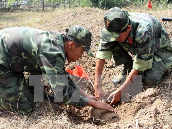 Desactivan una bomba de 240 kilogramos en provincia de Vietnam hinh anh 1
