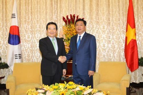 Ciudad Ho Chi Minh desea mayor cooperacion con Sudcorea hinh anh 1