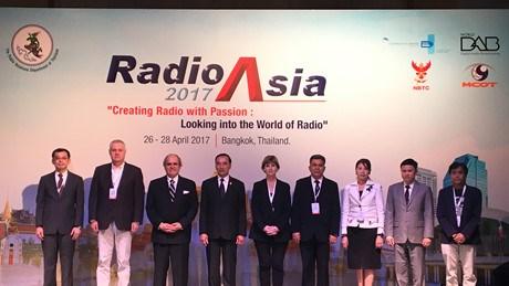 Inauguran en Tailandia Conferencia Asiatica de Radiodifusion hinh anh 1