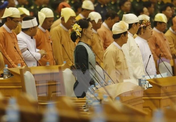 Celebraran quinta sesion de Parlamento de Myanmar en mayo hinh anh 1