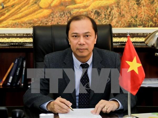 Altos funcionarios de ASEAN debaten preparativos para Cumbre regional hinh anh 1