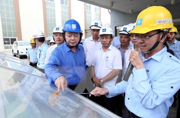 Inspeccionan en Vietnam construcciones ambientales de Formosa Ha Tinh hinh anh 1