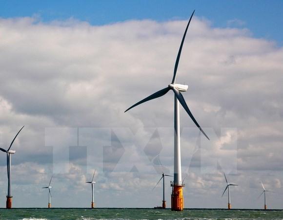 Inician construccion de una planta de energia eolica en provincia centrovietnamita hinh anh 1
