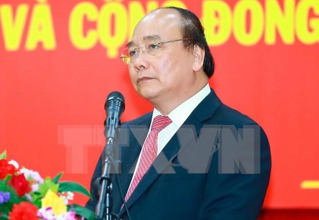 Premier de Vietnam asiste a la XXX Cumbre de ASEAN en Manila hinh anh 1