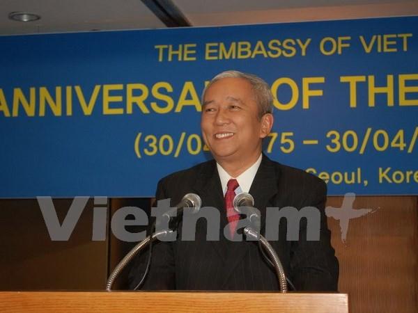 Comunidad vietnamita en Sudcorea festeja Dia de Reunificacion Nacional hinh anh 1