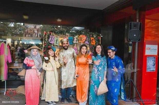 Nutrida participacion juvenil en Dia de Cultura Vietnamita en Australia hinh anh 1