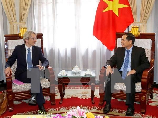 Vietnam atesora relaciones con Francia, afirma vicecanciller vietnamita hinh anh 1