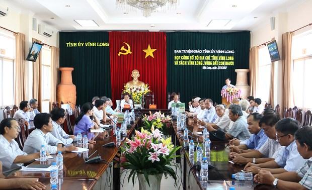 Vinh Long efectua diversas actividades conmemorativas de reunificacion nacional hinh anh 1