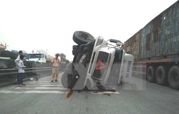 Reportan 43 accidentes de trafico en primeros dias festivos hinh anh 1