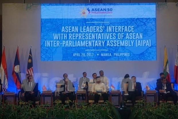 Reforzaran relacion ASEAN-AIPA en todos los niveles de cooperacion hinh anh 1