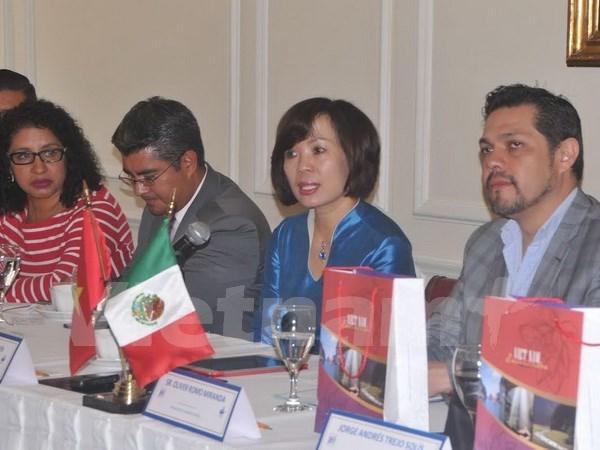 Intelectuales de Mexico admiran exitos socioeconomicos de Vietnam hinh anh 1