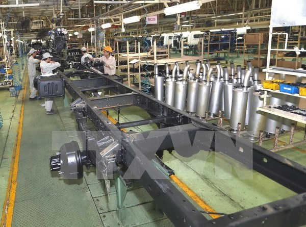 Aumenta indice de produccion industrial de Vietnam hinh anh 1