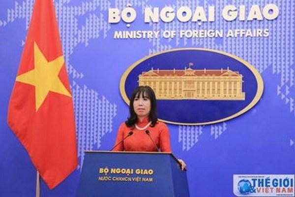 Vietnam trabajara con otros estados miembros sobre orientaciones de TPP, dice vocera hinh anh 1