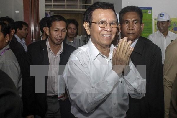 Camboya ratifica nuevo estatuto del CNRP hinh anh 1