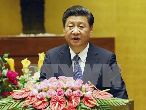 Presidentes de China y Filipinas dialogan sobre asuntos regionales y bilaterales hinh anh 1