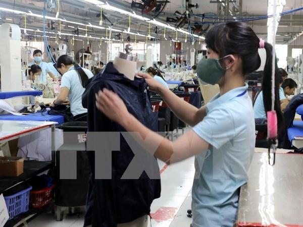 Pronostican buena expectativa de las exportaciones textiles de Vietnam hinh anh 1