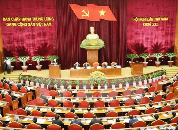 Comite Central del Partido Comunista de Vietnam inicia quinto pleno hinh anh 1
