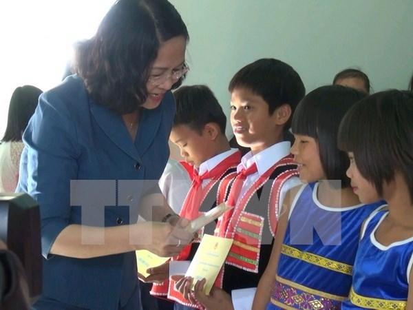 Fondo de Patrocinio Infantil de Vietnam celebra su fundacion hinh anh 1