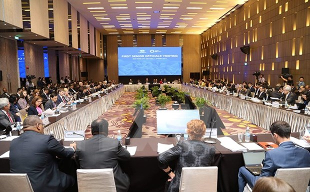 Dos mil delegados asistiran a SOM2 del APEC y citas anexas en Vietnam hinh anh 1