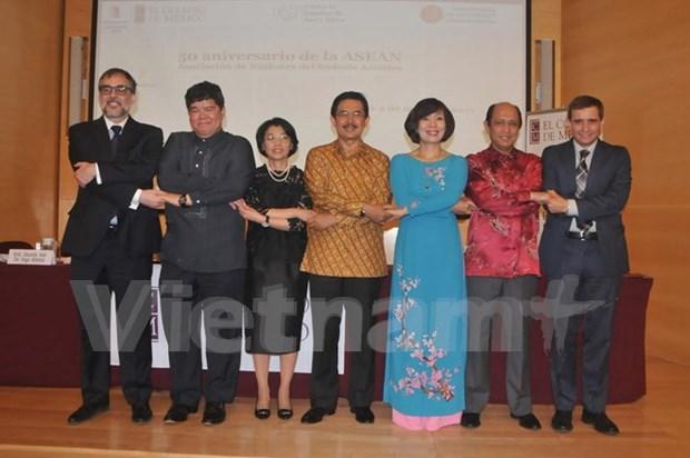 Realizan en Mexico seminario en saludo a aniversario 50 de ASEAN hinh anh 1