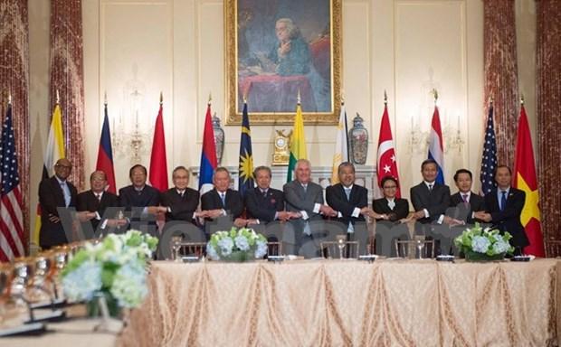 Estados Unidos respalda el protagonismo de ASEAN en la region, dice Rex Tillerson hinh anh 1