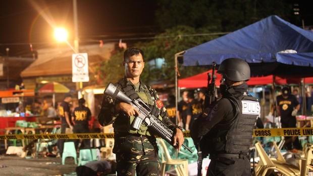 Explosion deja dos personas muertas y cuatro heridas en Filipinas hinh anh 1