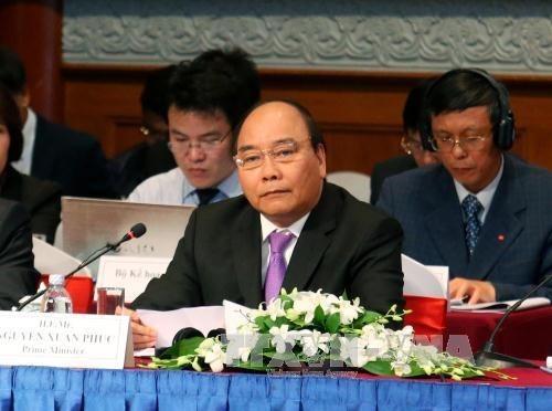 Premier vietnamita dialogara con comunidad empresarial en encuentro anual hinh anh 1
